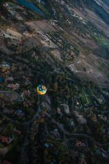 Balloon (photosic_kw24) Tags: hot air balloon arial delmar california sandiego mansion mansions