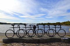 Break in Motala (-MDCe) Tags: art sweden bike lake erasmus trip