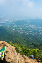 DSC_6018 (sergeysemendyaev) Tags: 2016 rio riodejaneiro brazil pedradagavea    hiking adventure best    travel nature   landscape scenery rock mountain    high ascend  carrasqueira risk  forest green  climbing