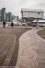 161012-Vancouver-7220.jpg (snapperpeter) Tags: lizmagor vancouver coalharbour britishcolumbia aluminum boatshed city canada lightshed shed crookedhouseonstilts