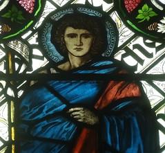 [45608] St Editha, Tamworth : St John the Baptist (Budby) Tags: tamworth staffordshire church window stainedglass preraphaelite