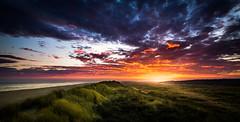 Ameland sunrise (Jacco van der Zwan) Tags: sunrise ameland sea sky sun beach holland