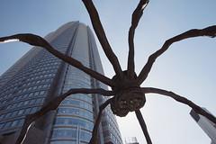 Tokyo - 58 ( CHRISTIAN ) Tags: japon japan tokyo urbain urban architecture roppongi roppongihills mori tour tower araigne louisebourgeois angle nikon grandangle wideangle