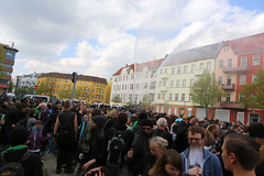 1.Mai 2013 Schneweide Antifa Aktion IMG_8809 (Thomas Rassloff) Tags: copyright berlin demo fotograf photographer thomas nazi protest picture pyramide rossi gegen aktion antifa sitzblockade schneweide 2013 rassloff