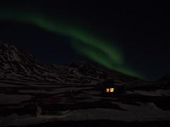 Aurora Borealis (:NFR:) Tags: night march nat hut aurora greenland auroraborealis grønland hytte nordlys marts polarlight vestgrønland westerngreenland