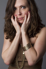Laura (austinspace) Tags: portrait woman studio washington spokane brunette alienbees