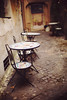 Tea Room (Sator Arepo) Tags: leica urban italy rome classic table 50mm ancient sitting chairs tea bokeh rangefinder noctilux tearoom authentic m9 pavestones leicam9
