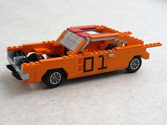General Lee Work In Progress (Mad physicist) Tags: car lego workinprogress wip dodge dukesofhazzard charger generallee