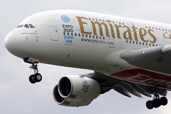 Emirates Airbus A380-861 A6-EDV LHR 18-05-13 (Axel J. - Aviation Photography) Tags: london airport heathrow aircraft aviation emirates airline airbus a380 flughafen flugzeug aeropuerto flugplatz avion lhr airfield aviao aviones vliegtuig aviacin luftfahrt luchthaven fluggesellschaft expo2020 a6edv