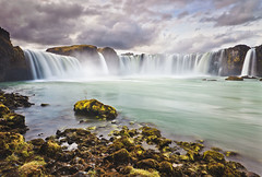 Goafoss - The waterfall of the Gods (Pll Gujnsson) Tags: longexposure spectacular landscape waterfall iceland dramatic approved ndfilter