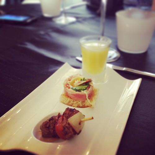 Mini kebab + mini sandwish + mini soup = #foodporn   #kinshasa #drc #restaurants
