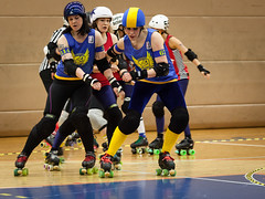 """Stockholm BSTRDs vs. Dock City Rollers-6 • <a style=""""font-size:0.8em;"""" href=""""http://www.flickr.com/photos/60822537@N07/8996354044/"""" target=""""_blank"""">View on Flickr</a>"""