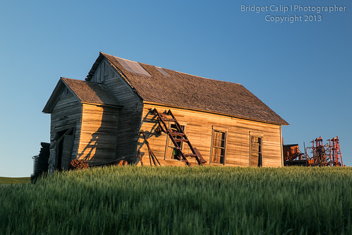 Abandoned Wooden House in the Palouse Country