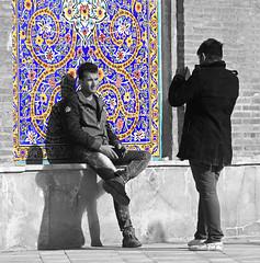 Tehran Bazar, Shah Mosque     (Parisa Yazdanjoo) Tags: shahmosque tehranbazar