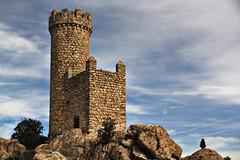metamorfosis ptrea (RalRuiz) Tags: espaa cielo nubes silueta a6 piedra comunidaddemadrid torren carreteradelacorua torredelosodones