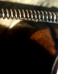 Spring (blondinrikard) Tags: spring spiral fjder makro nrbild closeup metal metall