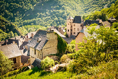 Conques 006.jpg (vossemer) Tags: viapodiensis jakobsweg chemindestjacques kultur pilgern stdte conques orte camino languedocroussillonmidipyrn frankreich languedocroussillonmidipyrnes fr