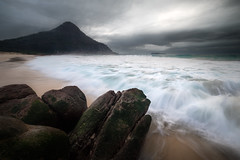 (murlito) Tags: zenithbeach mounttomaree landscape portstephens rush wave hightide