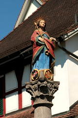 Kloster Frauenthal ( Zisterzienserinnen-Abtei - Grndung 1231 - Baujahr Neubau 17. und 18. Jahrhundert - Orden Zisterzier - convent couvent convento ) an der L.orze unterhalb Cham im Kanton Zug der Schweiz (chrchr_75) Tags: hurni christoph schweiz suisse switzerland svizzera suissa swiss chrchr chrchr75 chrigu chriguhurni chriguhurnibluemailch juli 2016 juli2016 hurni160718 kloster frauenthal klosterfrauenthal kantonzug albumklosterderschweiz   monastery monaejo klooster luostari monastre  mhainistir monastero klasztor mosteiro monasterio  sveitsi sviss  zwitserland sveits szwajcaria sua suiza albumbrunnenmitbrunnenfigurinderschweiz brunnenfigur figur skulptur brunnen fountain fontaine fontana