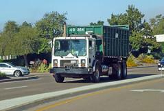 WM Garbage Truck 8-23-16 (Photo Nut 2011) Tags: sandiego california sanitation wastedisposal garbagetruck trashtruck ranchobernardo refuse junk waste garbage trash rolloff wm wastemanagement dumpster 408095