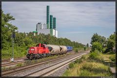 07-07-16 DB Cargo Gravita 261 085 + VTG Uacs, Duisburg Wanheim-2 (Julian de Bondt) Tags: db cargo gravita duisburg wanheim