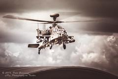 RAF Apache Gunship At Farnborough International Air Display (Peter Greenway) Tags: farnboroughairshow2016 farnboroughairdisplay fia2016 airdisplay apache helicopter gunship apachegunship rafhelicopter airshow farnboroughinternationalairshow
