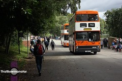 Orange and Cream. (Luke Bowman's photography) Tags: greater manchester transport gmt mcw metrobus mk1 5001 leyland fleetline translancs rally heaton park