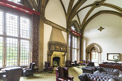 20160821_F0001: A room for a Victorian club (wfxue) Tags: kelhamhall kelham building architecture house mansion room windows ceiling chairs tables mirror couches interior
