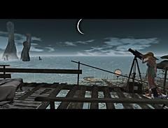 Star Gazing at Sky Fallen (Xan Baran) Tags: