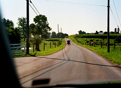 where the amish live (bluebird87) Tags: amish horse buggy film dx0 c41 epson v600 kodak ektar 100 mamiya m645