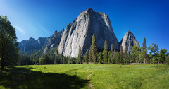 Yosemite Valley (hardaker) Tags: yosemite beautiful earth forest granite meadow nation nature park rock shade sunlit sunny trail travel trees wide wideangle tofb