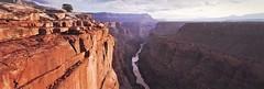 Timeless (rubberducky_me) Tags: arizona grandcanyon usa northamerica america canyon desert water river sunrise orange linhof linhoftechnorama film velvia panorama