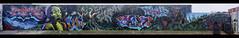 Jungle Underground (J-C-M) Tags: jungleunderground mural art artwork artistic street wall streetart wallart graffiti grafitti stitched panorama panoramic meetingofstyles footscray melbourne victoria australia