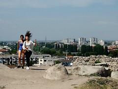 Plovdiv, Nebet Tepe (franz_brocchi) Tags: plovdiv bulgaria chimney cityscape street  fujifilmxseries fujix20 wwwmscfotoit deftouch