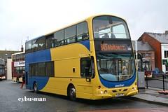 Transdev Yorkshire Coastliner 404, YJ04LYP. (EYBusman) Tags: transdev blazefield yorkshire coastline bus coach bridlington station town centre wright eclipse gemini volvo b7tl lancashire united yj04lyp eybusman