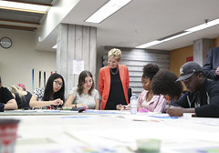IMG_1825  Premier Kathleen Wynne met with students of the Art Centre at Central Technical School to discuss their access to post-secondary education. (Ontario Liberal Caucus) Tags: tuition education dong matthews toronto postsecondary school students classroom art