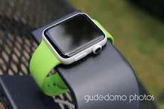 Ceramic Apple Watch with Lime Green Sport Band (gudedomo) Tags: apple ceramic watch applewatch white edition watchband band wrist accessory color combination red product 2016 orange yellow mint green bright pink salmon stand blue baby turquoise navy ocean midnight cocoa mocha nylon metal strap link bracelet milanese loop hermes leather