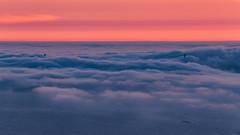 Golden Gate Fog (marq4porsche) Tags: clouds fog golden gate bridge san francisco california berkeley hills grizzly peak sunset light cloudy foggy canon 100400 eos 6d cloudscape landscape bay ocean sky