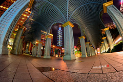 2016-8-12  (Taipei Xinyi Cathay Financial Center) ((Su Bo-An)) Tags: taiwan taipei 101 night view nightview d3100 nikon 8 8mm fisheye samyang xinyi district xinyidistrict city taipeicity 2016 0812 201608 20160812  101    cathay financial center cathayfinancialcenter xinyicathayfinancialcenter taipeixinyicathayfinancialcenter taipeicathayfinancialcenter            taipei101
