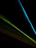 Staccato strings (jocelyncoblin (on & off)) Tags: sooc lightpainting intentionalcameramovement lightart lightplay blue buestblue blueazul abstract nightshot topf25 topv111 green jocelyncoblin minimalism blackandcolor