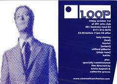 LOOP (Mary Hawkins) Tags: flyer clubkid london 1999