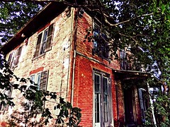 the green mansion.... (BillsExplorations) Tags: mansion farmhouse green abandoned decay forgotten ruins civilwar undergroundrailroad historical fountaingreen illinois abandonedhouse abandonedillinois oncewashome