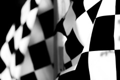 start your engines (grafficartistg4) Tags: automotive black checkeredflag flag race racing saturday weekend white winner ©joshuapeterson2016 lincolncity oregon unitedstates