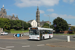 C&M Coaches - W563 JVV (MSE062) Tags: w563jvv w563 jvv dennis dart slf plaxton pointer single decker bus a1a birkenhead liverpool tyerbus glasgow scotland greenock low floor