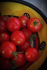 (252/366) Cherry Tomatoes (CarusoPhoto) Tags: iphone 6 plus john caruso carusophoto tomato tomatoes cherry bowl harvest homegrown home grown