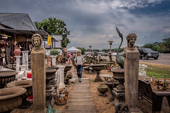 OK, Last One..:)) (Jims_photos) Tags: roundtoptexasantiquefestival antiques antiquestore texas outdoor outside oldmemories adobelightroom adobephotoshop shadows sunnyday daytime downtown jimallen lightroom clouds cloudy vintage memories