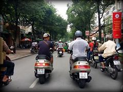 Friendship (Viết Nhân_7) Tags: motor cycle old friend friendly friendship vietnam tphcm việt nam scooters