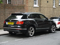2016 Bentley Bentayga (Rorymacve Part II) Tags: car cars automobile auto bus truck motor motorvehicle saloon estate compact sports roadster transport road heritage historic daimler daimlerds420 ds420 aec aecroutemaster bentley bentleybentayga