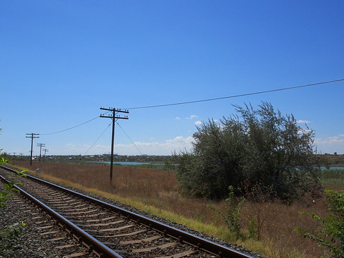 Railroad and telegraph line (AP4P0575 1PS)