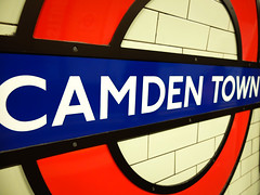 Camden Town Tube (ho_hokus) Tags: 2016 camden england fujix20 fujifilmx20 london londonunderground sign station camdentown thetube tube underground